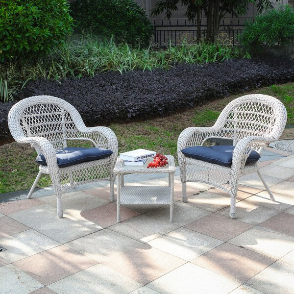 Rayfield 3 Piece Seating Group with Cushions by August Grove