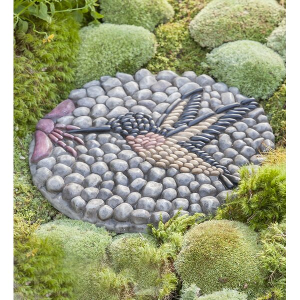 Hummingbird Decorative Stepping Stone by Wind & Weather