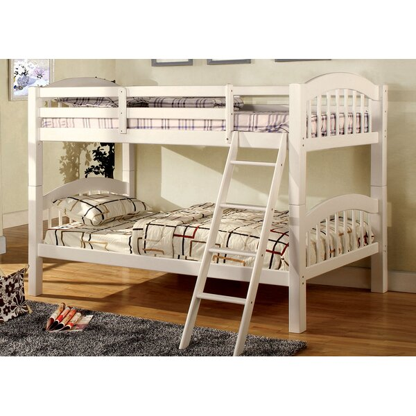 Cravens Twin Over Twin Bunk Bed by Harriet Bee
