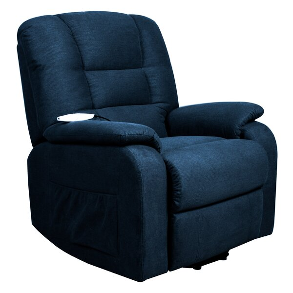 Roswell Power Lift Assist Recliner by Serta Futons