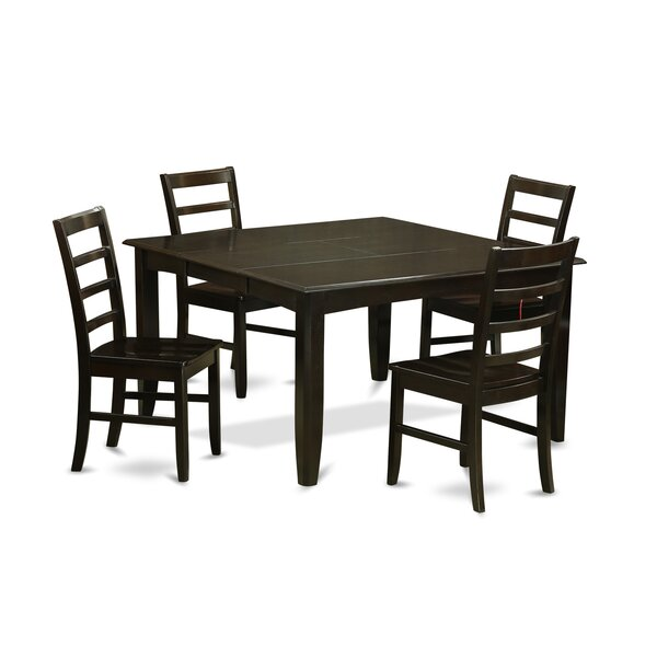 Tamarack 5 Piece Dining Set by Red Barrel Studio