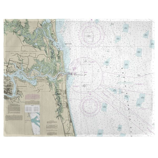 Jacksonville, FL 18 Placemat (Set of 4) by East Urban Home