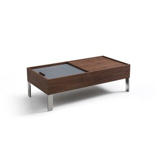Deidre Wood and Metal Coffee Table