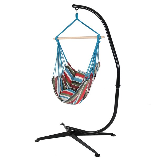 Sisco Chair Hammock with Stand by Bay Isle Home