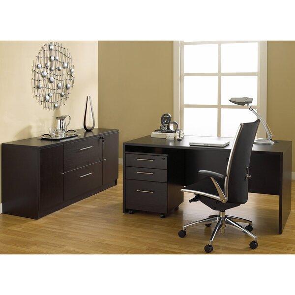 Pro X 3 Piece Desk Office Suite by Haaken Furniture