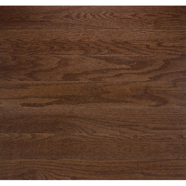 Classic 3-1/4 Solid Oak Hardwood Flooring in Sable by Somerset Floors