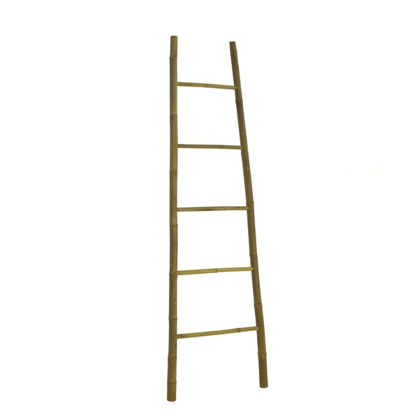 Bamboo Bath Towel 7 ft Decorative Ladder by Bayou Breeze