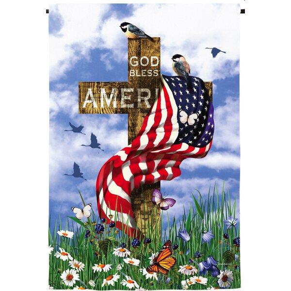 The Patriots Garden Flag by Evergreen Flag & Garden