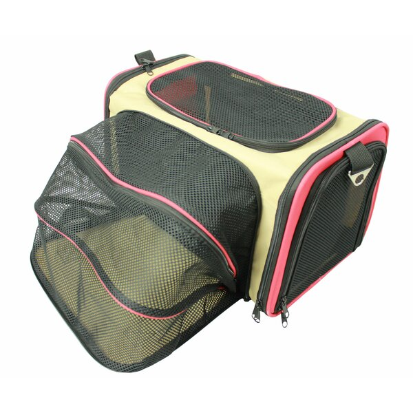 Lessie Folding Collapsible Airline Approved Pet Crate by Tucker Murphy Pet