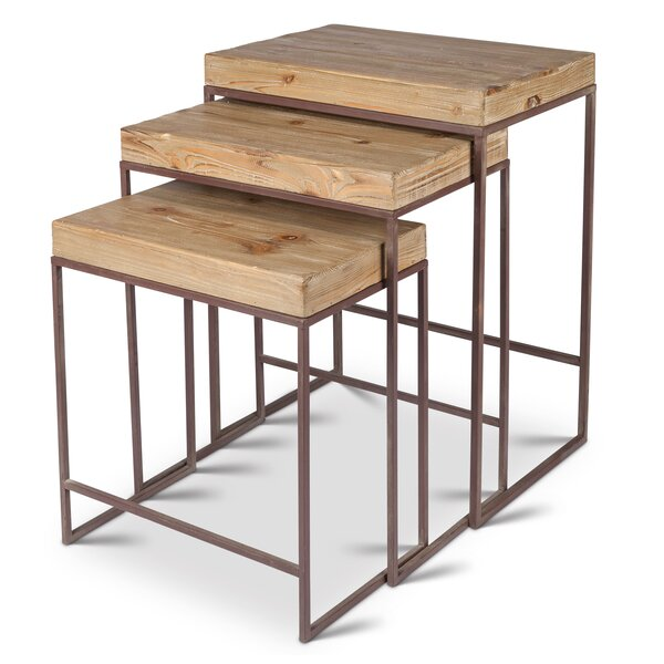 Mcgriff 3 Piece Nesting Tables by Bungalow Rose