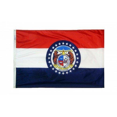 Missouri Glo Traditional Flag by NeoPlex