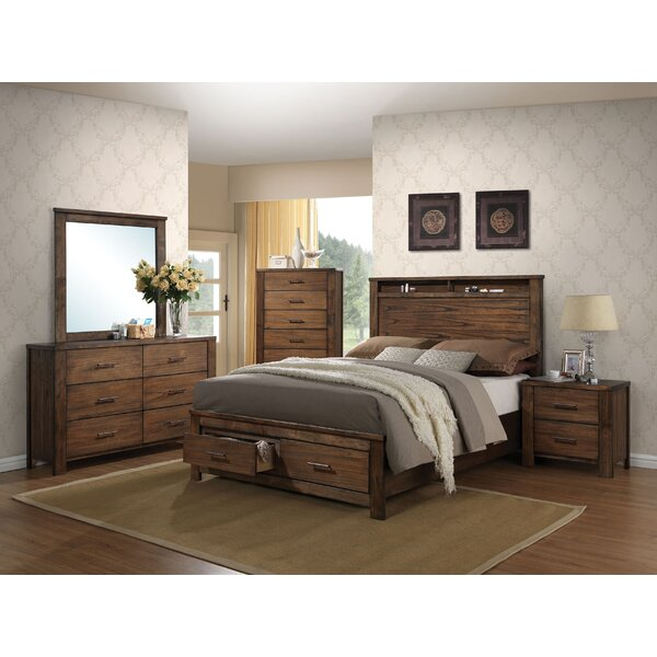 Schlesinger Storage Panel Configurable Bedroom Set by Latitude Run