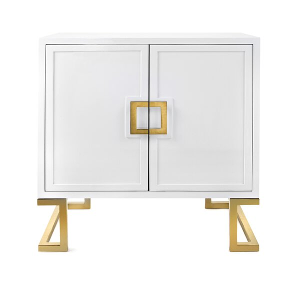Kleiman 1 Door Accent Cabinet by Mercer41 Mercer41