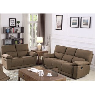 Oaklawn Motion 2 Piece Reclining Living Room Set by Red Barrel Studio®