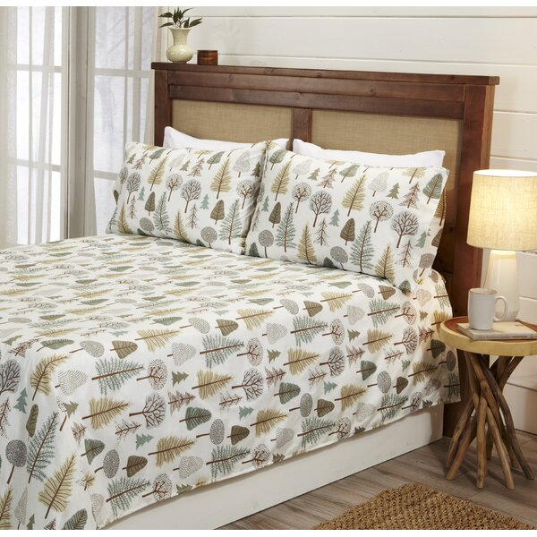 Sinead Lodge Printed Ultra-Smooth Microfiber Sheet Set by Millwood Pines