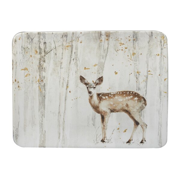 Fregoso A Woodland Walk Rectangular Platter by August Grove
