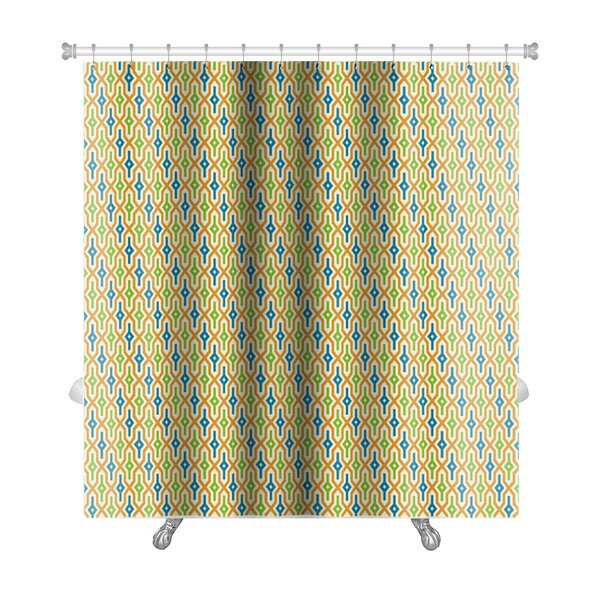 Primo Arabic Geometric Premium Shower Curtain by Gear New