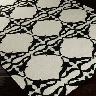 Looking for Drysdale White Geometric Area Rug ByEbern Designs