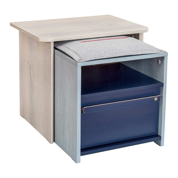 Holroyd 1 Drawer Nightstand by Isabelle & Max