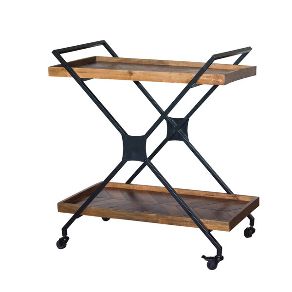 Glaucia Bar Cart by Union Rustic
