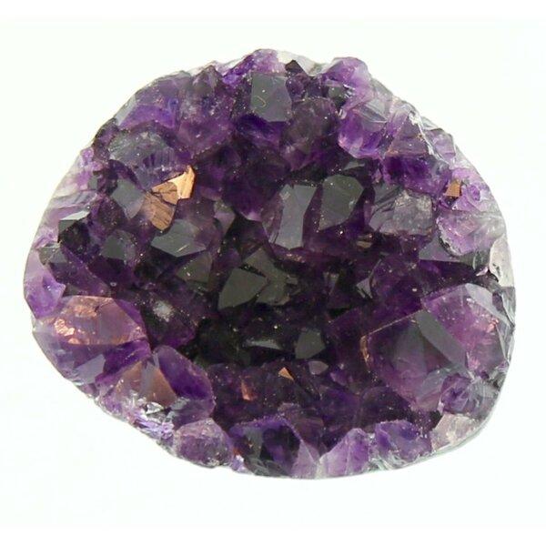 Purple Amethyst Crystal Knob by Stephen D. Evans