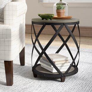 Affordable Rubino End Table ByLaurel Foundry Modern Farmhouse