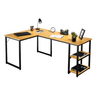 Great Price Hardaway L-Shaped Computer Desk By Symple Stuff