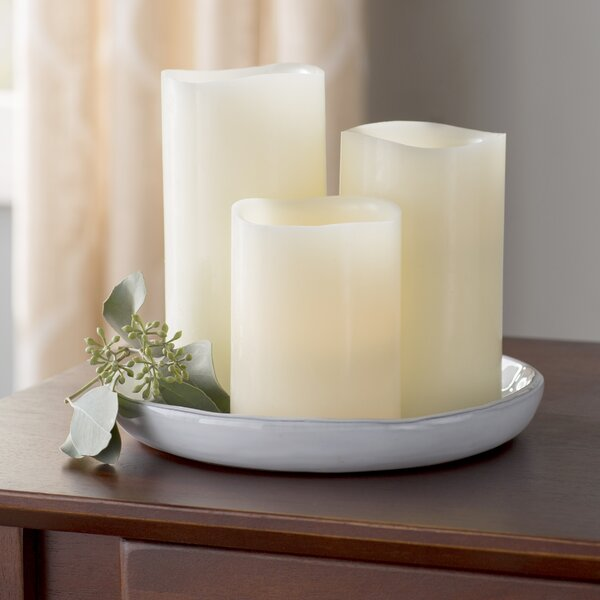 3 Piece Scented Flameless Candle Set By Andover Mills.