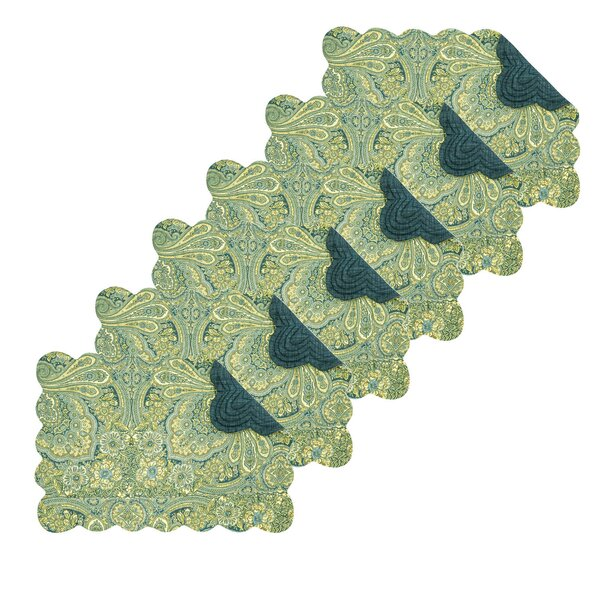 Eris Paisley 19 Placemat (Set of 6) by August Grove