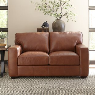 Buying Pratt Leather Loveseat By Birch Lane™