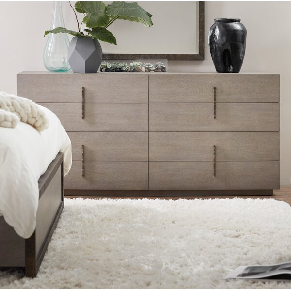 Miramar Carmel Auguste 8 Drawer Double Dresser by Hooker Furniture