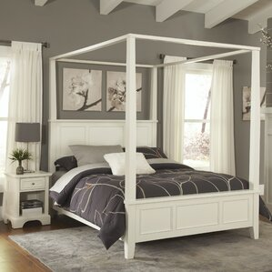 Canopy King Bedroom Sets You\'ll Love   Wayfair