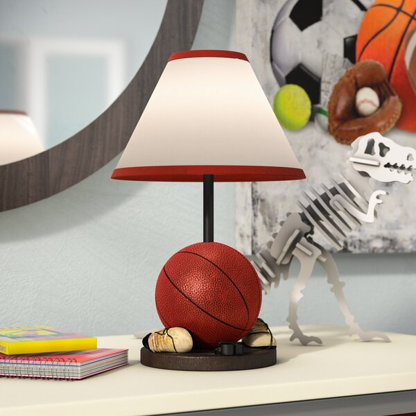 Zacharie Basketball 9 Table Lamp by Zoomie Kids