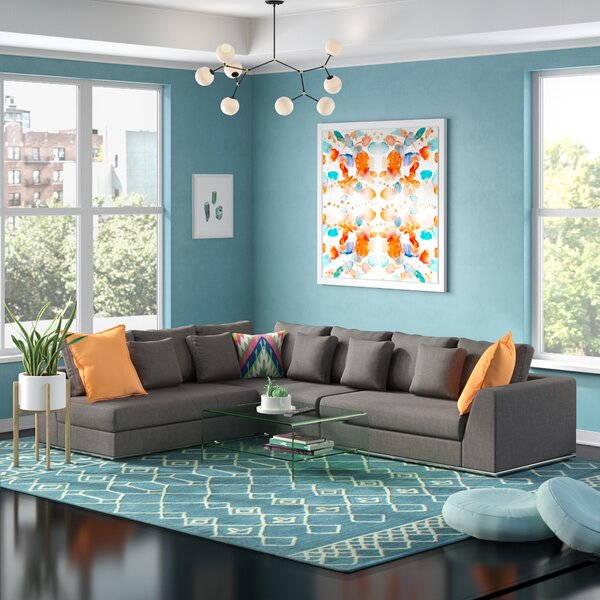 Moore Living Reversible Modular Sectional by Wade Logan