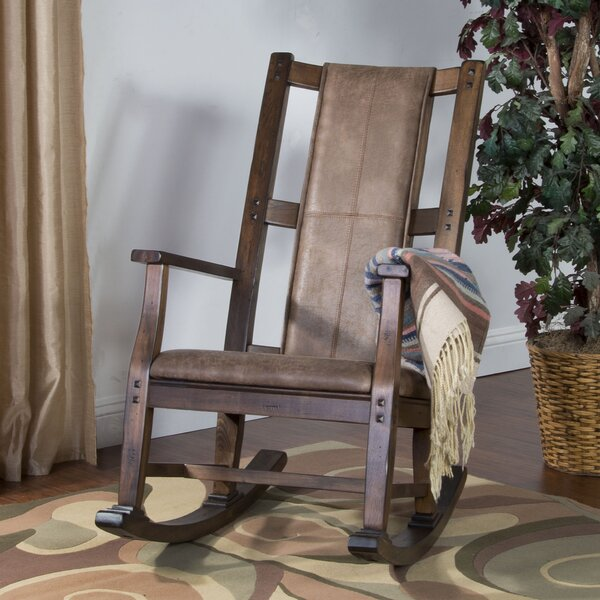 Birney Rocking Chair by Loon Peak