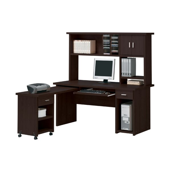 Koester L-Shape Desk with Hutch