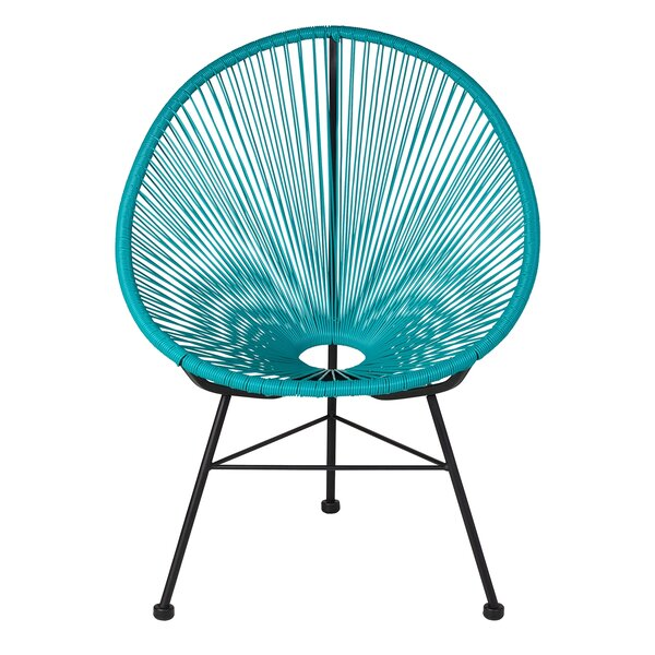 Masten Patio Chair by Bungalow Rose