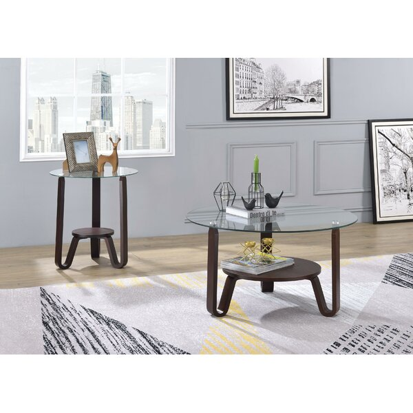 Pylant Coffee Table with Tray Top by Ebern Designs Ebern Designs
