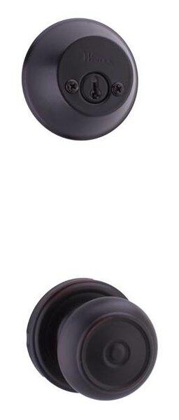 Lexington / Oval Double Cylinder Entrance Knobset by Weslock