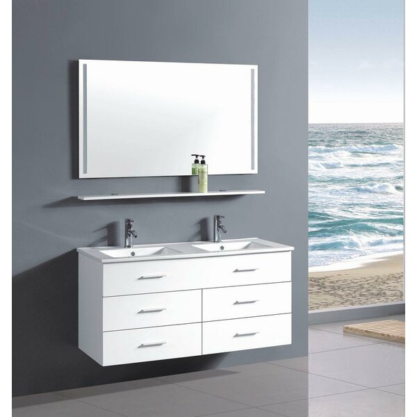 48 Double Bathroom Vanity Set by Belvedere Bath