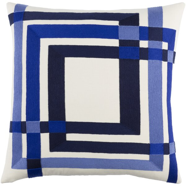 Kismet Color Form Cotton Pillow Cover by emma at home by Emma Gardner