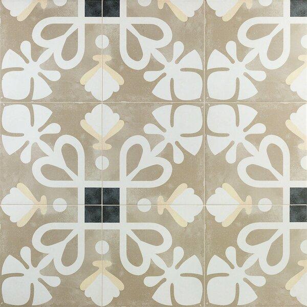 Anabella 9 x 9 Porcelain Field Tile in Reina by Splashback Tile