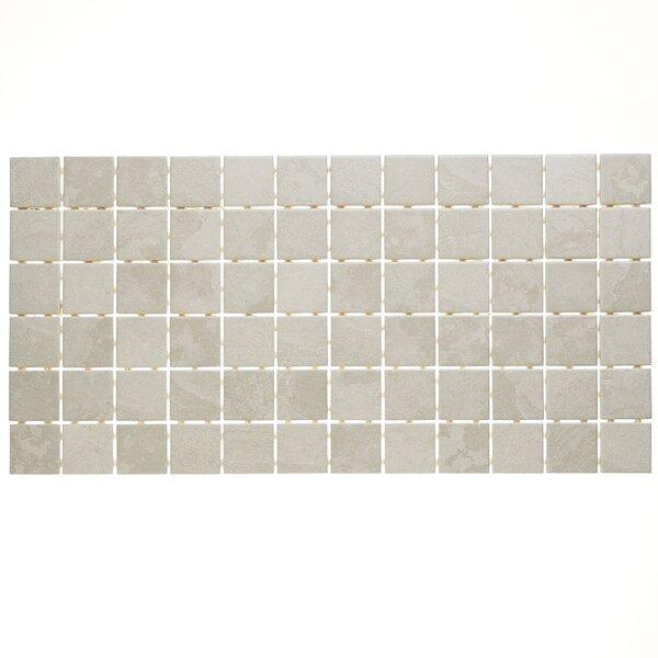 Slate Attaché 12 x 24 Porcelain Mosaic Tile in Meta Light Gray by Daltile