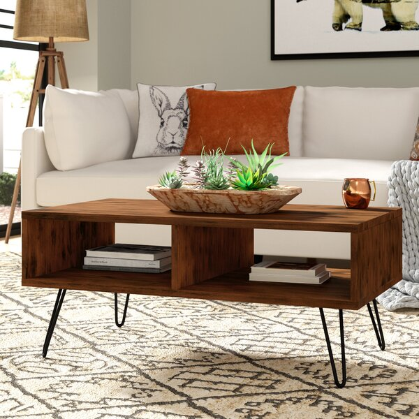 Whitaker Coffee Table With Storage By Union Rustic