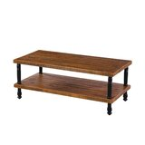 Kyson Industrial Coffee Table by Millwood Pines