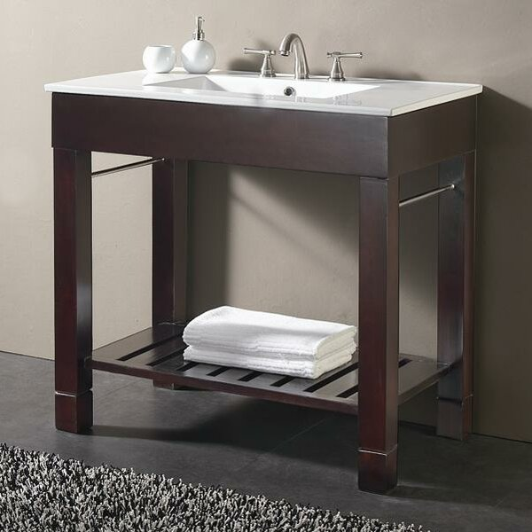 Bozeman 37 Single Bathroom Vanity Set by Wrought Studio