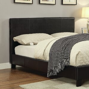 Bertram Upholstered Panel Headboard with Slats by Latitude Run