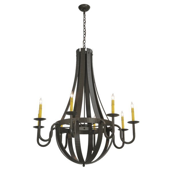 Analee 8 - Light Candle Style Empire Chandelier By Red Barrel Studio