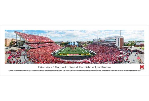 NCAA Maryland, University of by James Blakeway Photographic Print by Blakeway Worldwide Panoramas, Inc