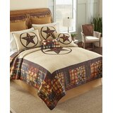 Vikki Rustic Star Single Quilt by Millwood Pines